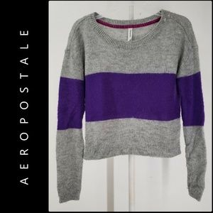 Aeropostale Woman Pull Over Knit Sweater Medium